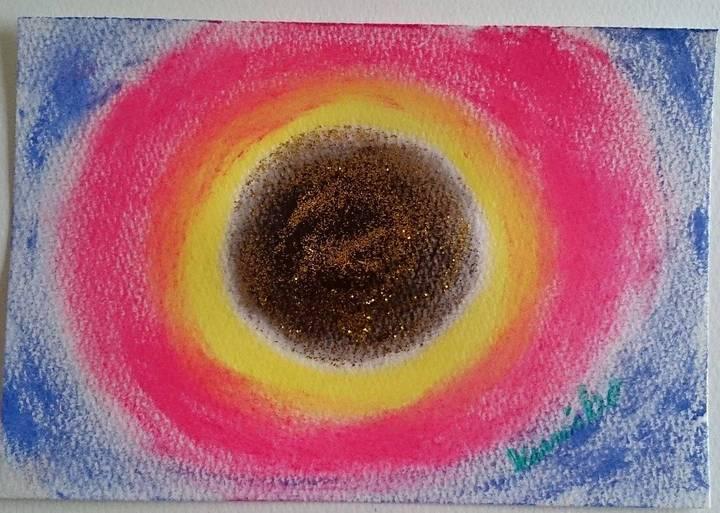 井藤久美子作 中心の色 数秘&カラーのゴールド