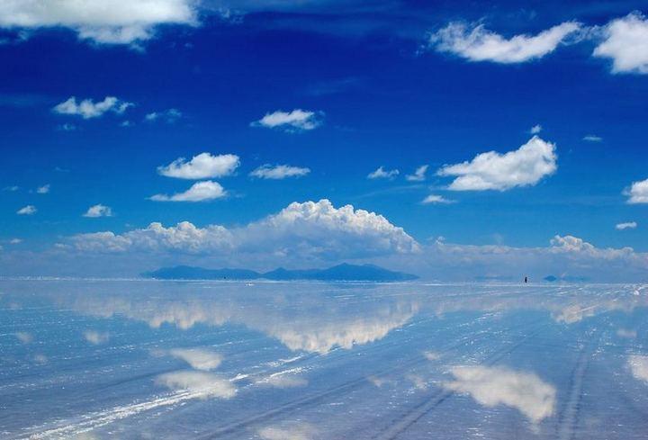 海,天国のような海