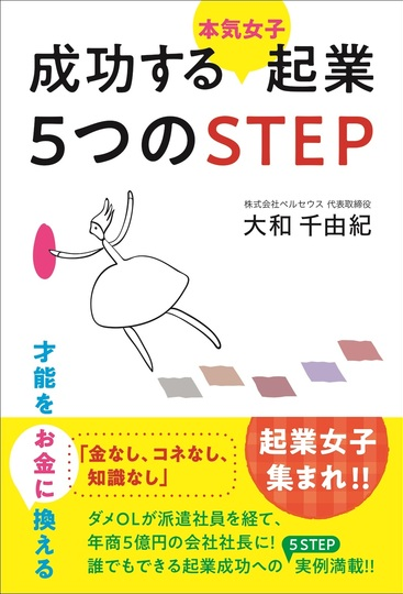 成功する本気女子起業5つのSTEP