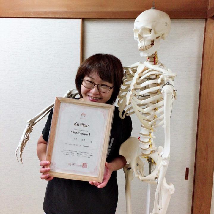 お子さんに「ママってお医者さんみたいだね。」と言われた佐野伸恵さん