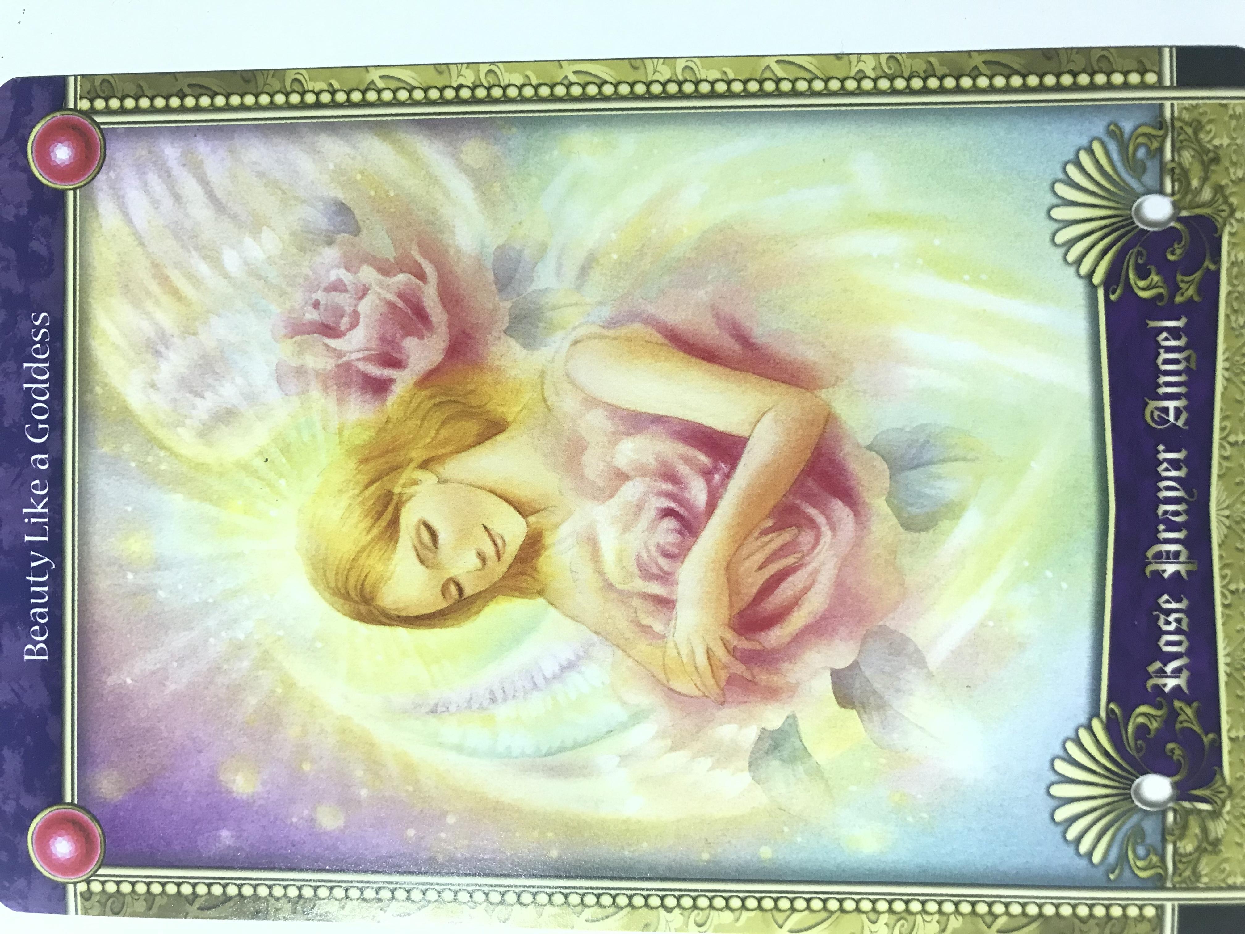バラの祈りの天使