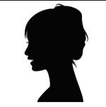 女性シルエット150