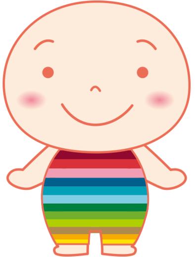 虹色からだちゃん