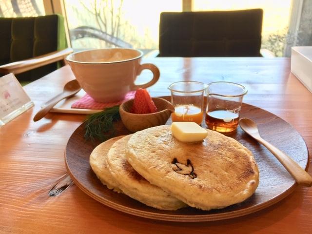 すずめカフェ_パンケーキ