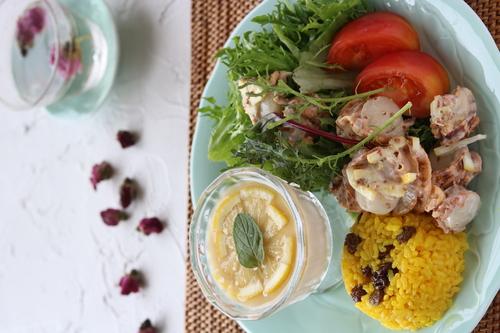 心を癒す賢女の食卓「おうち薬膳カフェ風ワンプレート」