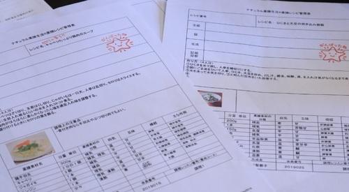 生徒さんの薬膳レシピ調理例