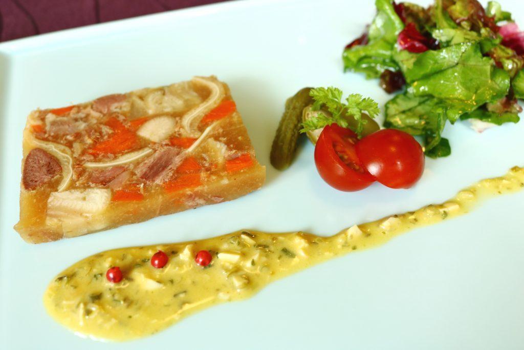 コワンドゥフルノーのフランス料理