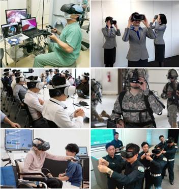 VRを使った研修