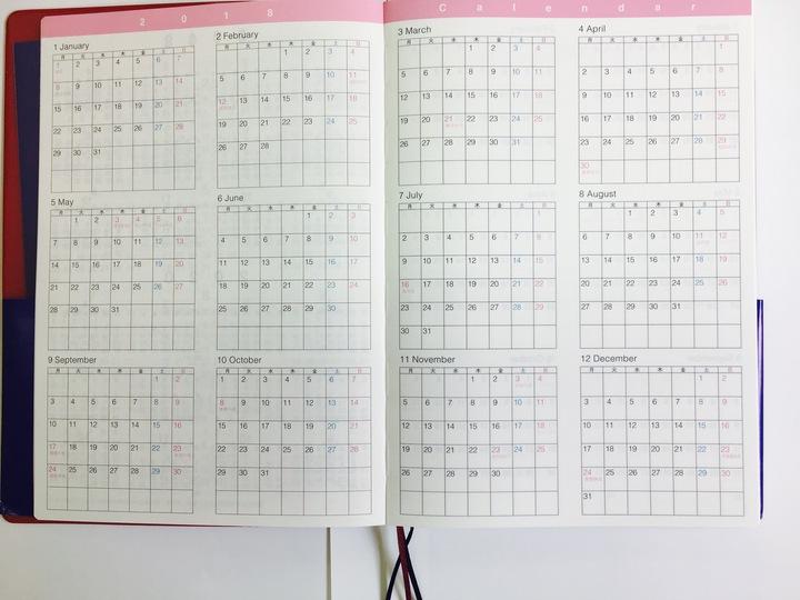 CITTA手帳の特徴