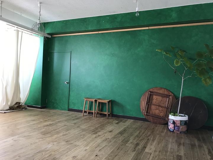 アトリエ緑壁